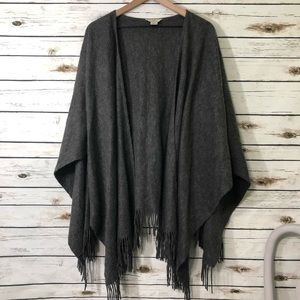 Brooks Brothers wool blend wrap